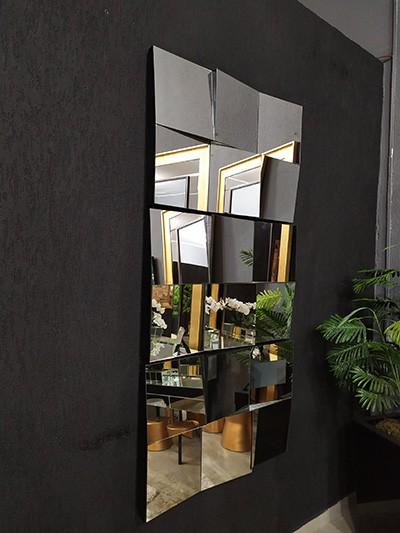 Espelho Decorativo UD 3D  - Universo Decor Móveis e Decoração