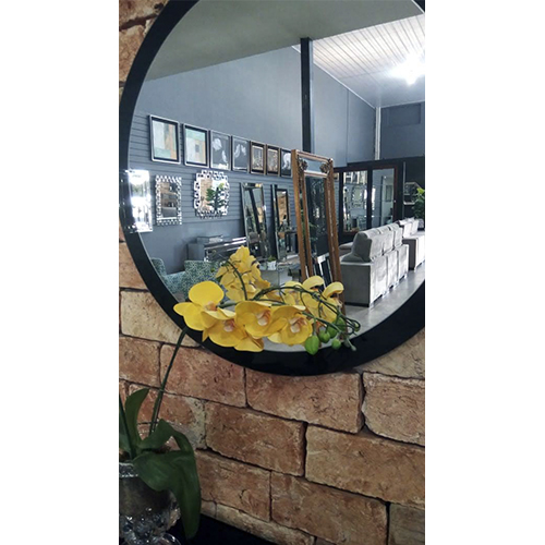 Espelho Redondo de Parede DG  - Universo Decor Móveis e Decoração
