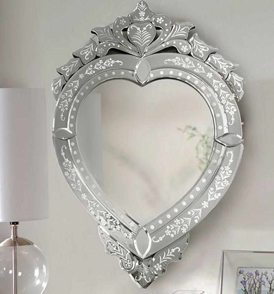 Espelho Veneziano Prata HJA 12196