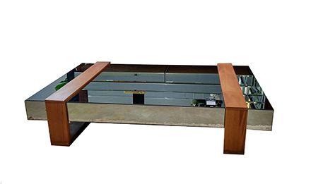 Mesa de Centro de Madeira Fenix Classic