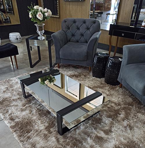 273 - Mesa de Centro Espelhada Fenix Classic.
