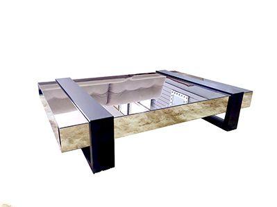 Mesa de Centro Espelhada Fenix Classic