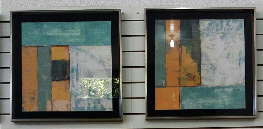 Quadros Abstratos UD 2052.2053
