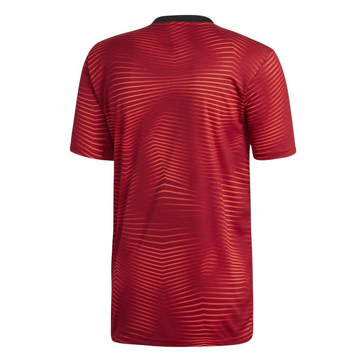 Camisa Adidas Flamengo 2019 Pré Jogo Masculina
