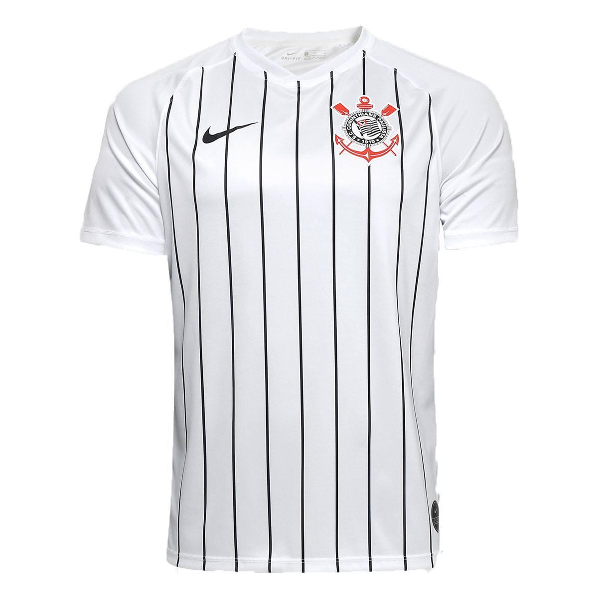 Camisa Corinthians I 19/20 s/nº Nike Masculina