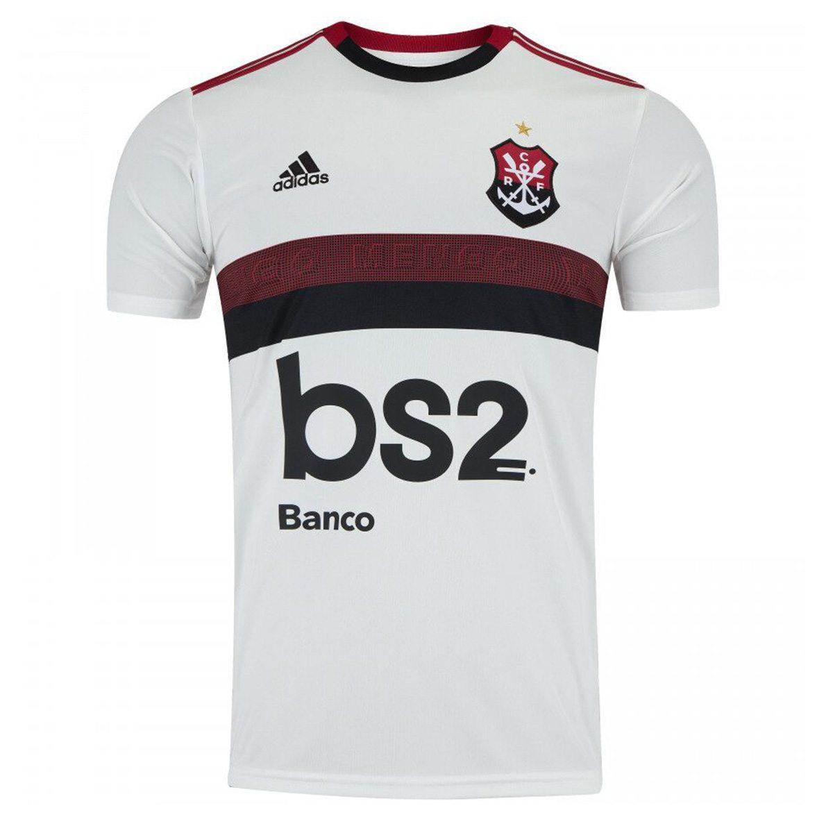 Camisa Flamengo II 19/20 s/nº Torcedor Adidas Masculina