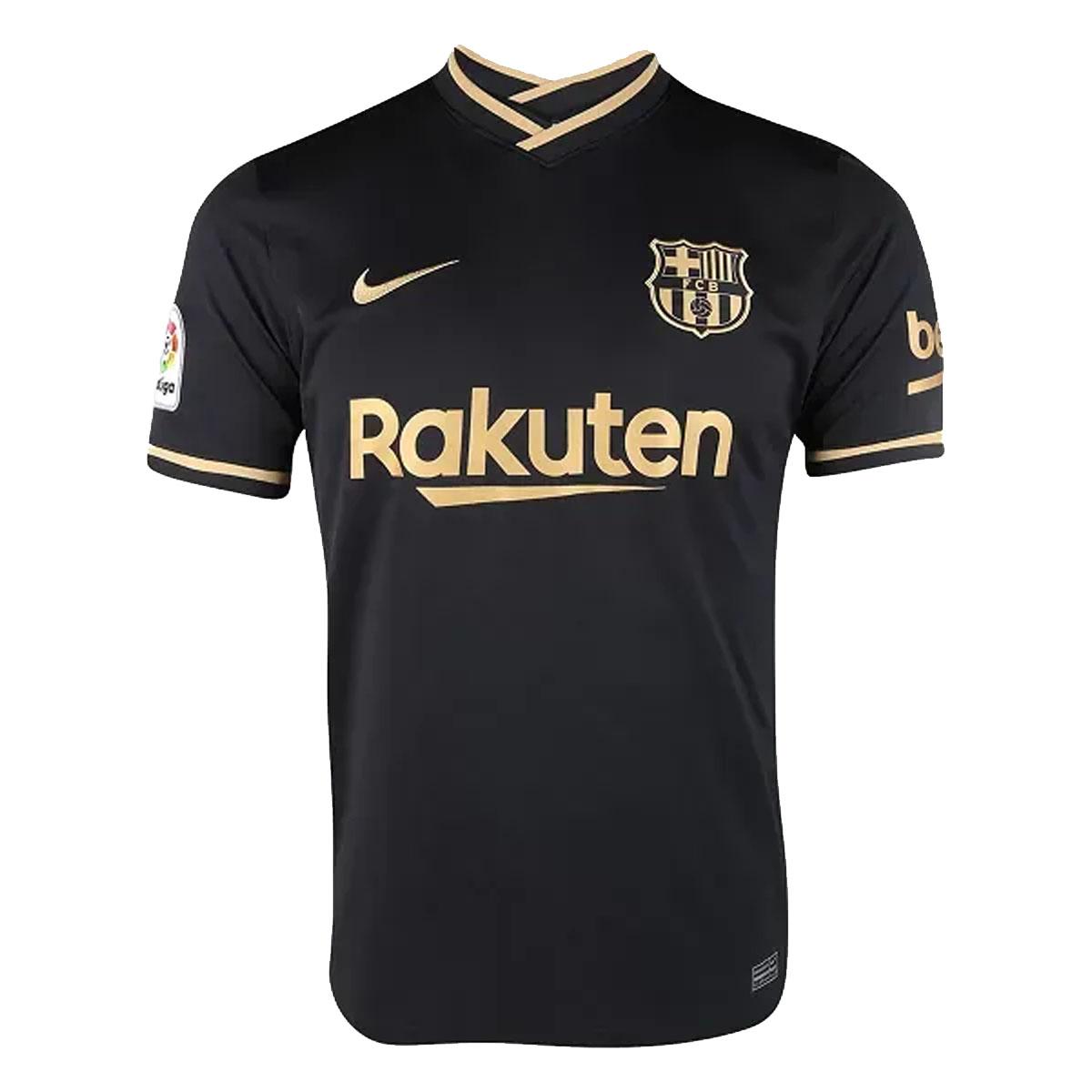 Camisa Nike Barcelona Away Torcedor 20/21 s/nº Masculina