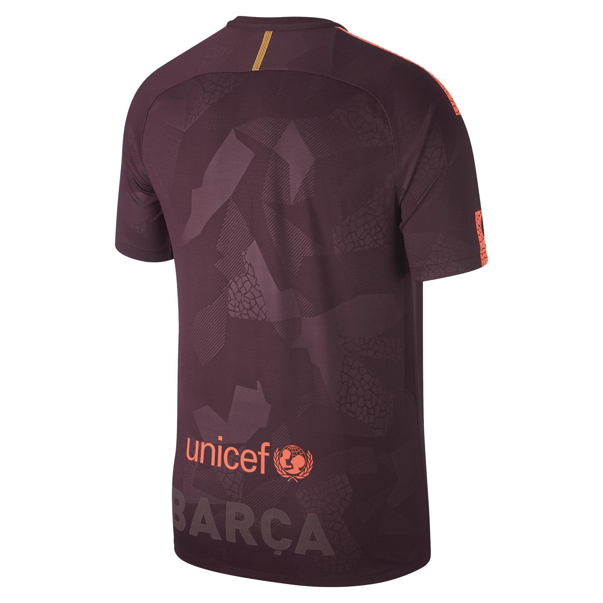 Camisa Nike Barcelona III 2017/2018 Torcedor Masculina