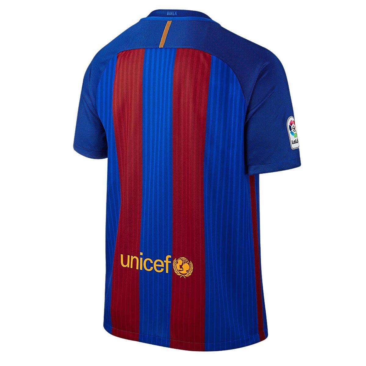 Camisa Nike Torcedor Barcelona I 2016/2017 Masculina