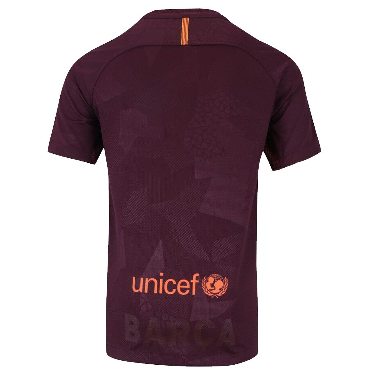 Camisa Nike Torcedor Barcelona Third 17/18 Masculina