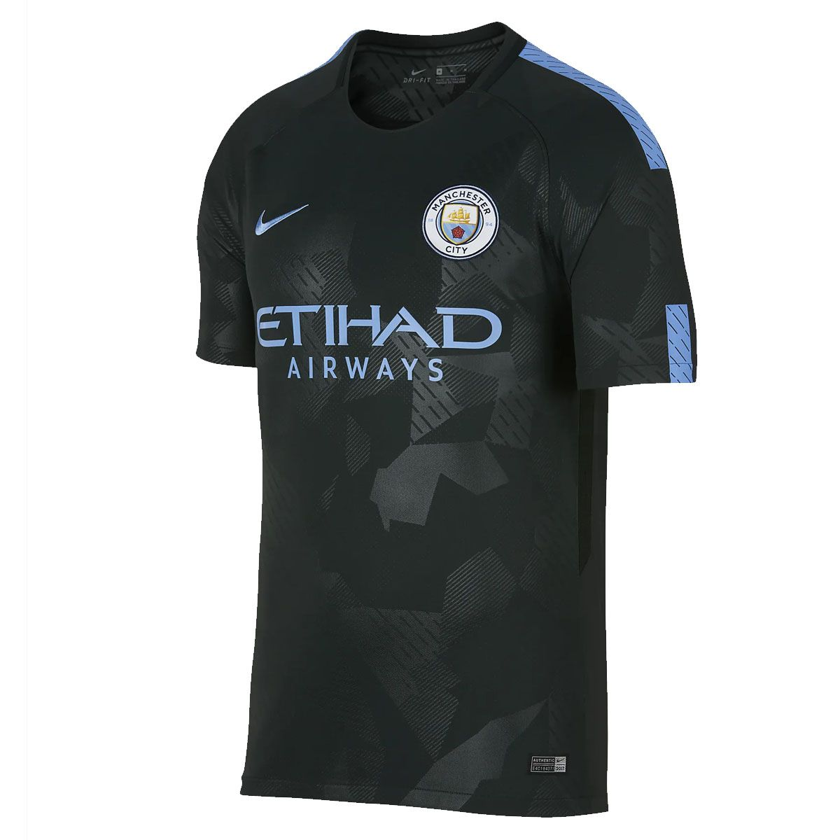 Camisa Nike Torcedor Third Manchester City 17/18 Masculina