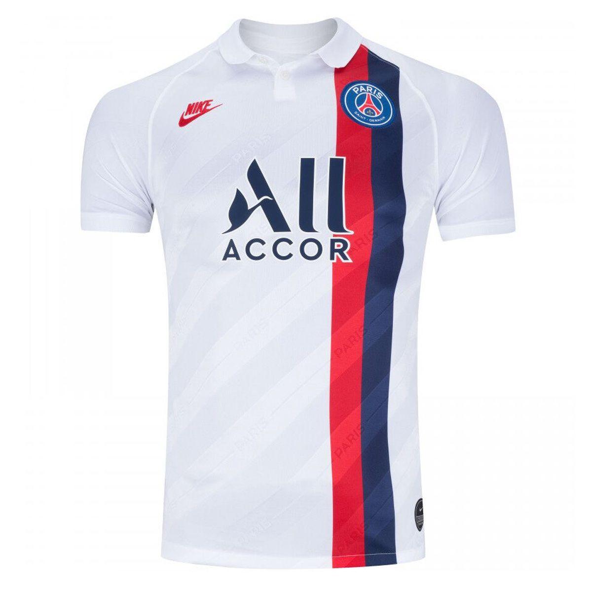 Camisa Paris Saint-Germain Third 19/20 s/nº Torcedor Nike Masculina