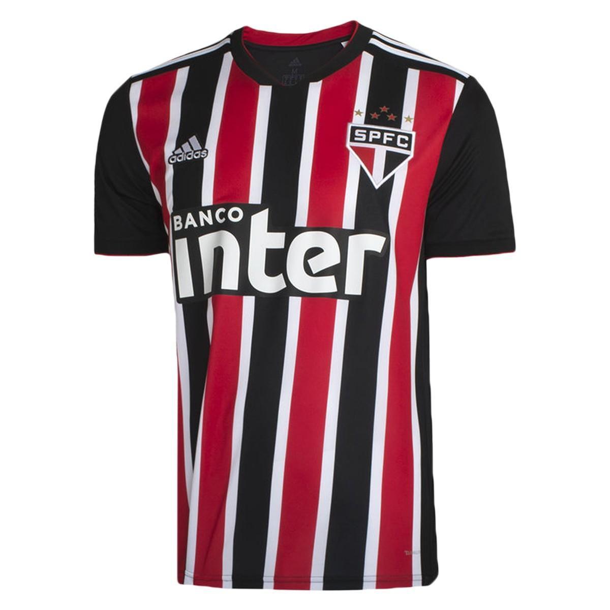 Camisa São Paulo II 2018 s/n° Torcedor Adidas Masculina