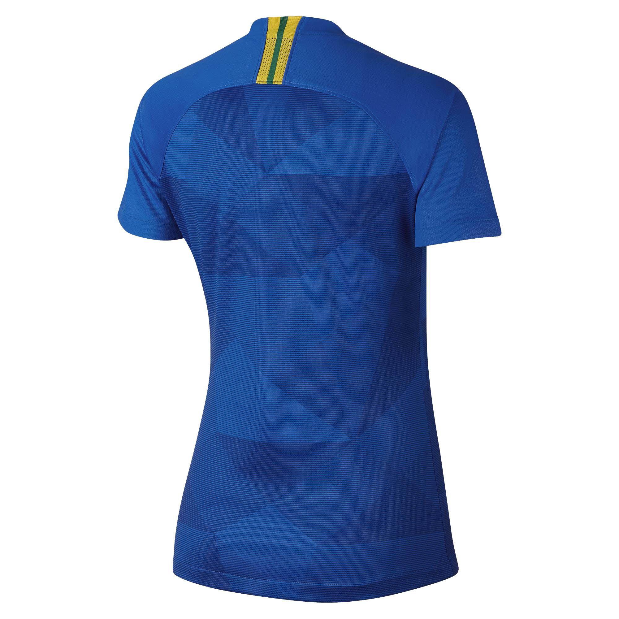 Camisa Seleção Brasil II 2018 s/n° Torcedor Nike Feminina