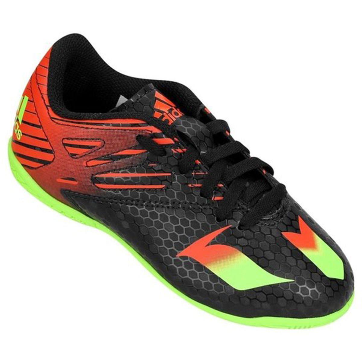 a57c51ef5f7ab Chuteira Futsal Infantil Adidas Messi 15.4 IN