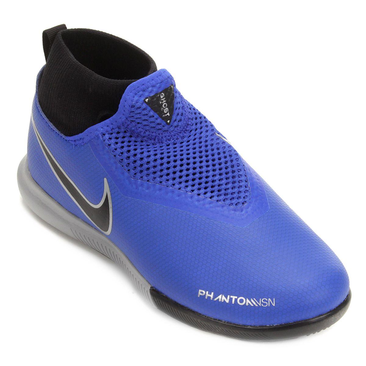 bd0fbc217808b Chuteira Futsal Infantil Nike Phantom VSN Academy DF IC