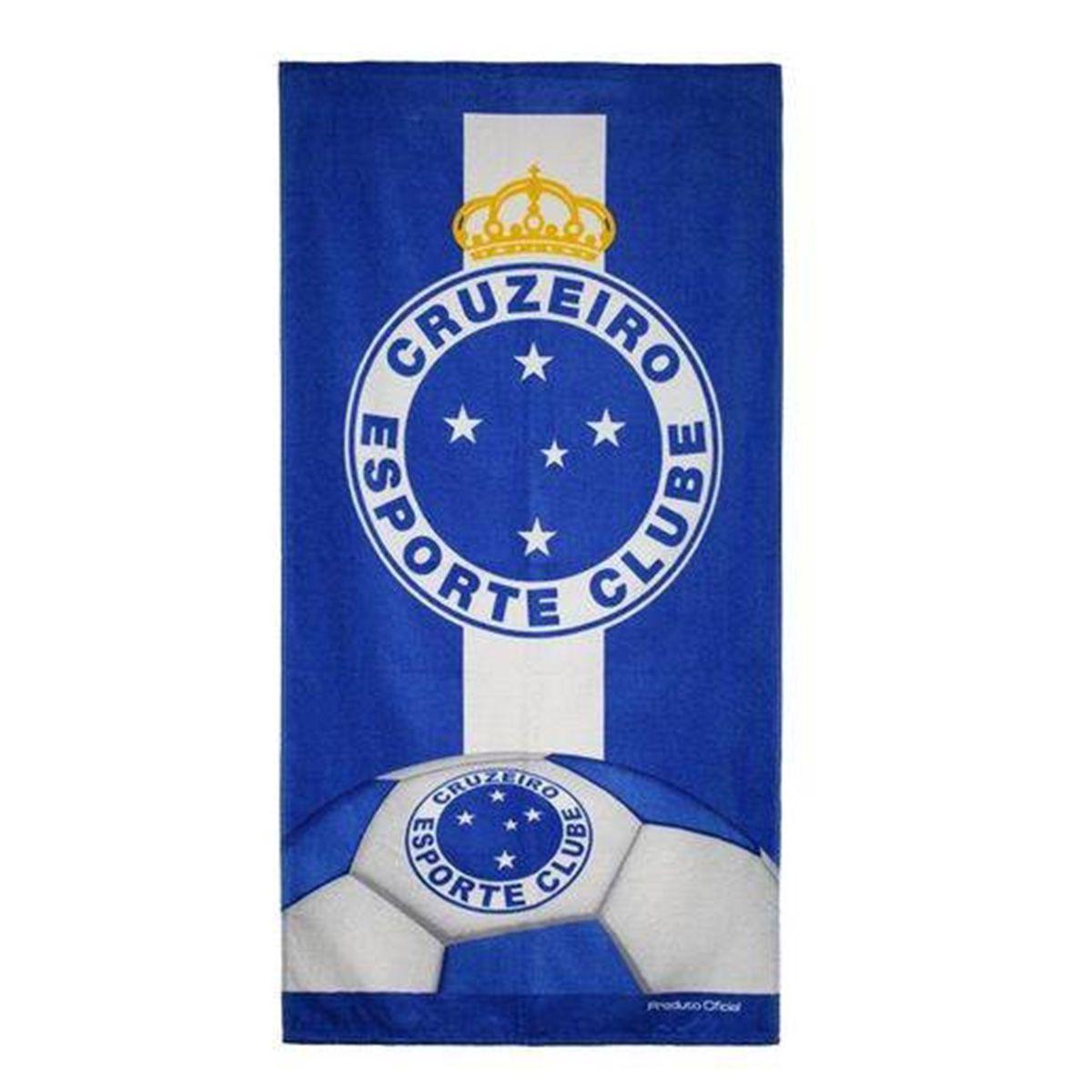Toalha Veludo Cruzeiro Buettner Escudo