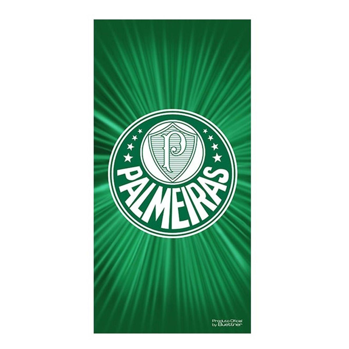 Toalha Veludo Palmeiras Buettner Escudo