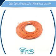 CABO OPTICO DUPLEX MULTIMODO LC/LC 100MTS 62,5/125