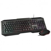 COMBO TECLADO E MOUSE GAMER 2400DPI COM LED