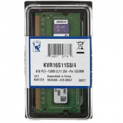 MEMORIA KINGSTON 4GB DDR3 1600 SO-DIMM 1.5V