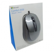 MICROSOFT MOUSE C/ FIO COMFORT BLUETRACK 5 BOTOES USB PRETO