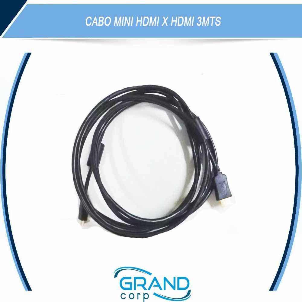 CABO MONITOR HDMI X MINI HDMI 3 MTS