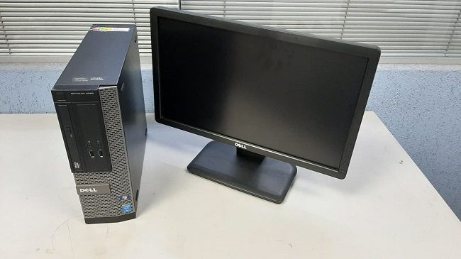 CPU DELL 3020 CORE I3 4ª 4GB 500GB + MONITOR LCD 18.5 - USADOS