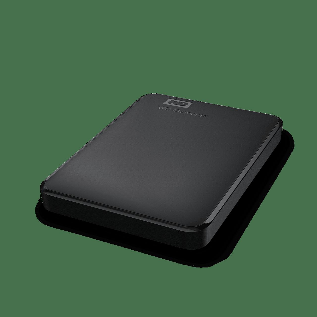 HD EXTERNO 1TB WESTERN DIGITAL PRETO