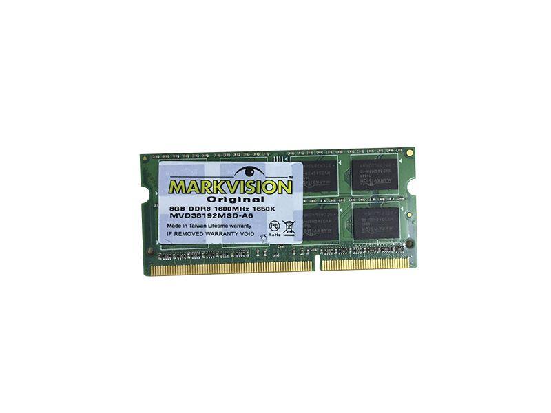 MEMORIA 8GB DDR3 1600 SODIMM MARKVISION