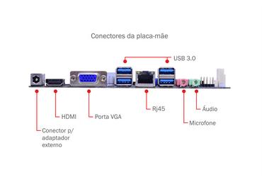 NANO PC CELERON QUAD CORE J3160 4Gb SSD 120Gb WIN10 PRO