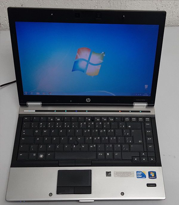 NOTEBOOK HP ELITEBOOK 8440 CORE I5 4GB 320GB - USADO
