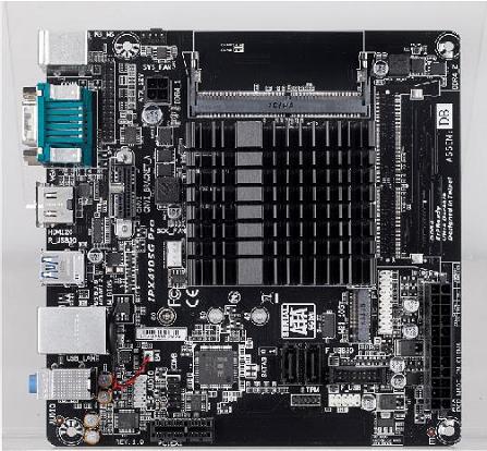 Placa mãe PCWare IPX4105PRO Quad Corp