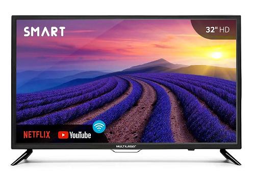 TELA 32 HD COM FUNCAO SMART E WIFI INTEGRADO