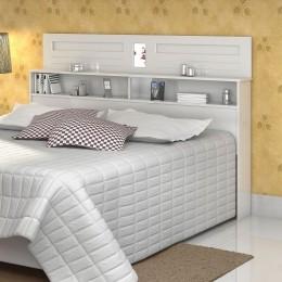 Cabeceira Solteiro 0.90 Florença Branco