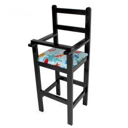 Cadeira de Criança para Restaurante de Madeira - LH Móveis