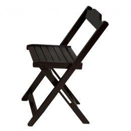 Cadeira Dobrável Tabaco de Madeira Roma - LH Móveis