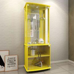Cristaleira 4 Portas Amarelo Brilho 4070 - JB Bechara