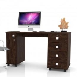 Office Escrivaninha 4 Gavetas Noce Smart