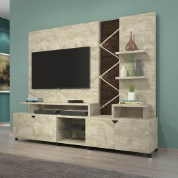 Home para tv até 55'' Rovere / Noce Cross
