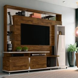 Home para tv até 55'' Canela / Off White Intense