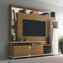 Home Para Tv Até 55 Polegadas Damasco / Off White Intense