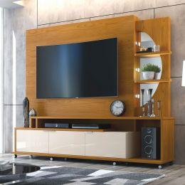 Home Para Tv Até 60 Polegadas Damasco / Off White Elegance
