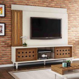 Home Para Tv Até 60 Polegadas Off White / Amêndoa Splendore