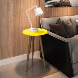 Mesa de Apoio Amarelo - Móveis Bechara