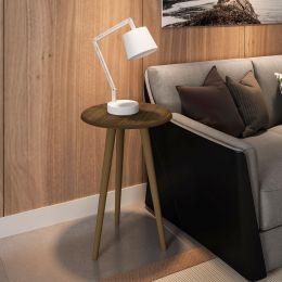 Mesa de Apoio Madeira Rustica - Móveis Bechara
