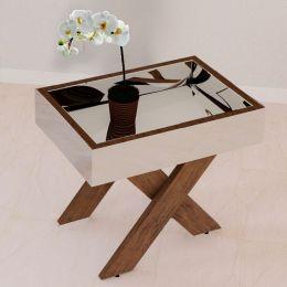 Mesa de Centro espelhada Canela Madeirado 4023 - JB Bechara