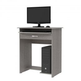 Mesa de Computador Prática c/ Gaveta Carvalho Bianco -  Ej Móveis