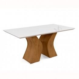 Mesa de Jantar Santorini Canela / Off White