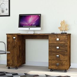 Escrivaninha 4 Gavetas Office Smart